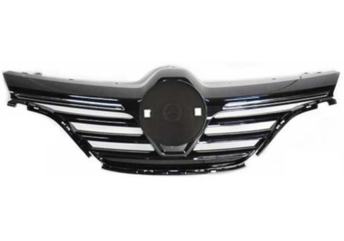 Grille w/7 Chrome Mould