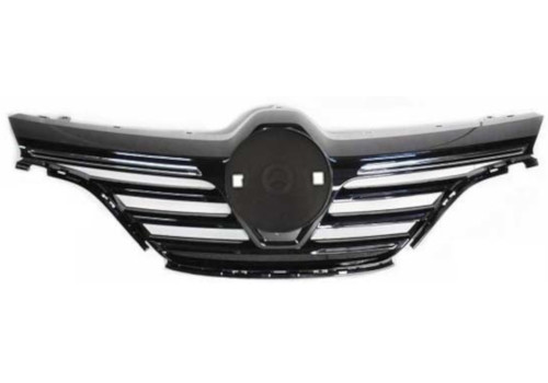 Grille w/Upper Chrome Mould