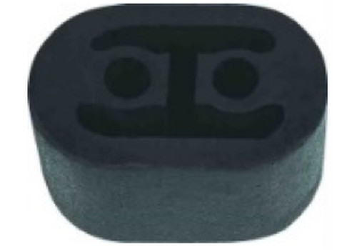 Exhaust Rubber, Front, Small