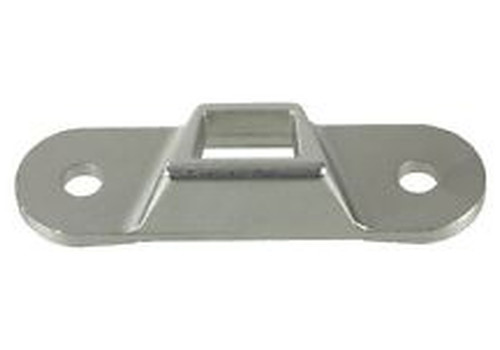 Trunk Lock Striker, Upper, Zinc